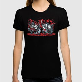 Where the Slashers Are (Grayscale) T-shirt