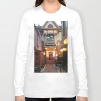 maine Long Sleeve T-shirts featuring Maine by Christina Hand