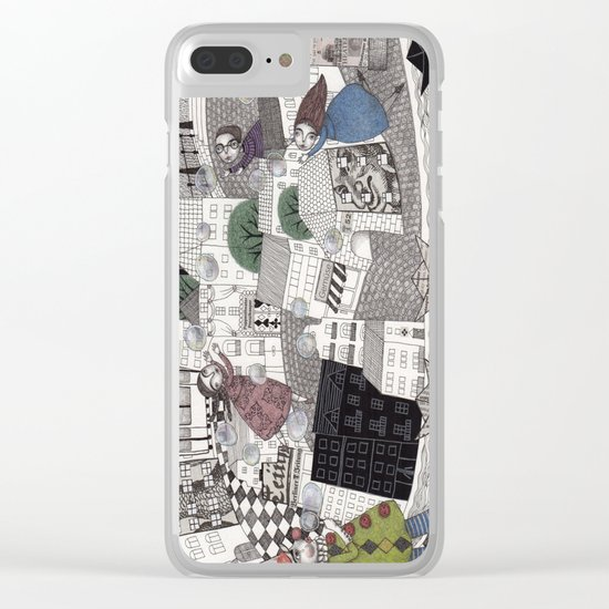 Catch Them if you Can Clear iPhone Case