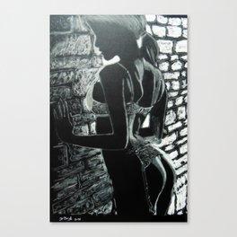 Artistic Nude #2 Canvas Print