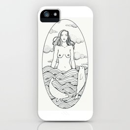 Woman of the sea iPhone Case