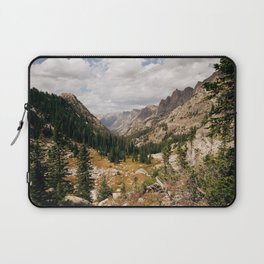 The View from Above 10,000 ft - Wyoming Wilderness Laptop Sleeve