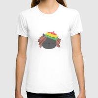 reggae T-shirts featuring Cute Reggae by Anna Alekseeva kostolom3000