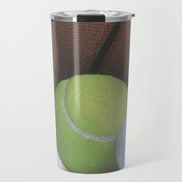 Sports Love Variety of Balls Travel Mug