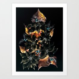 Christmas Tree - Mystery Time Art Print