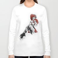 ruby Long Sleeve T-shirts featuring Ruby by Ivriniel Arts