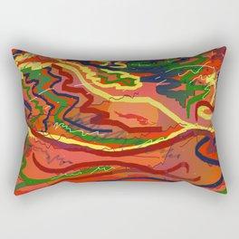 Night Signals 4 Rectangular Pillow