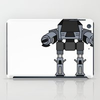 ed sheeran iPad Cases featuring ED 209 by Alex Wolf