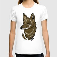 coyote T-shirts featuring Coyote by Sergio Campos