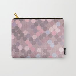 Polka Dots Geometry Carry-All Pouch