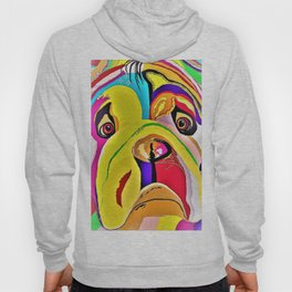 Bulldog Close-up Hoody