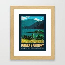 Deneka's Print Framed Art Print