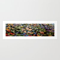 rug Art Prints featuring Rug by Eleanor E Soule