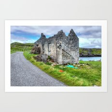 Rodel, Isle of Harris Art Print