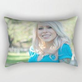 Girl Next Door Rectangular Pillow