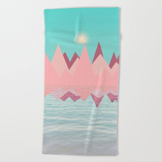 Spring Landscape II Beach Towel