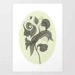Botanica 4 Art Print