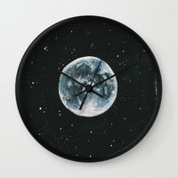 laia Wall Clocks featuring Moon by Laia™