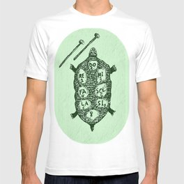 Turtle on Green T-shirt