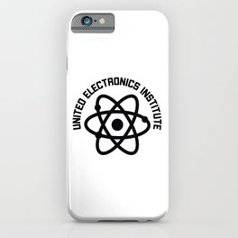 United Electronics Institute iPhone Case