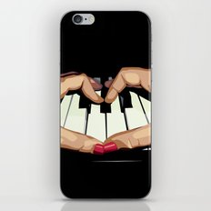 For the Love of Music iPhone & iPod Skin