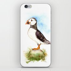 Puffin on a Rock iPhone Skin