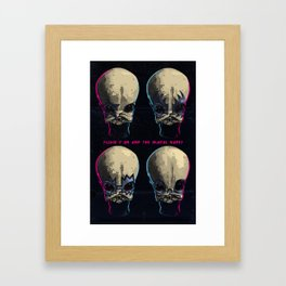 Mos Eisley Rock City Framed Art Print