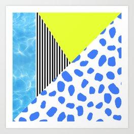 Post Modern Summer Art Print