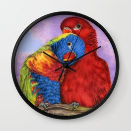 The Color Of Love Wall Clock