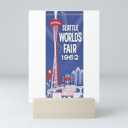 Seattle 1962 World's Fair Vintage Poster Mini Art Print