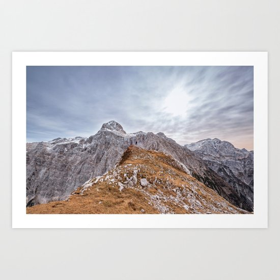 mountain landscape 7 Art Print