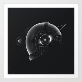 Space Helmet Art Print