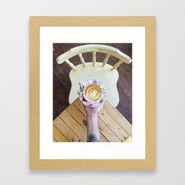 The Coffeeshop Framed Art Print