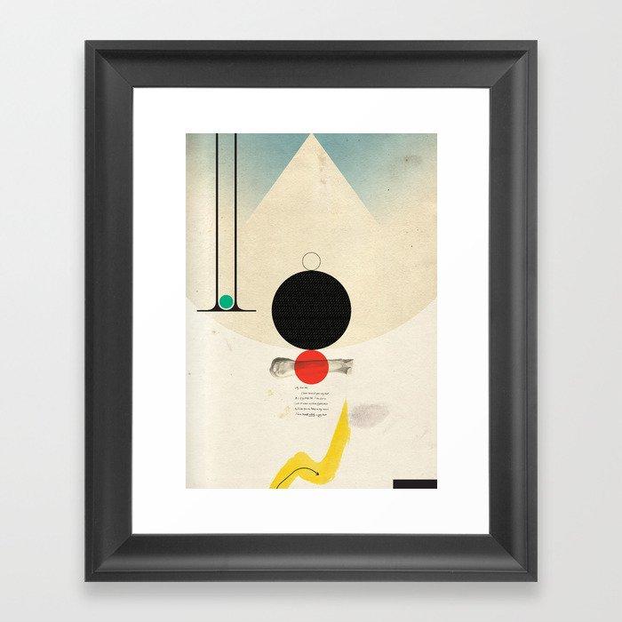 Oneonone Framed Art Print
