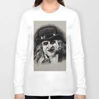 pen Long Sleeve T-shirts featuring Pen by chadizms