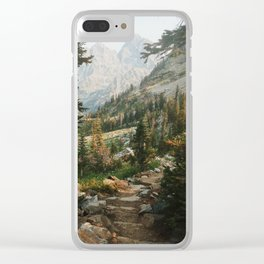 Teton Crest Trail Clear iPhone Case