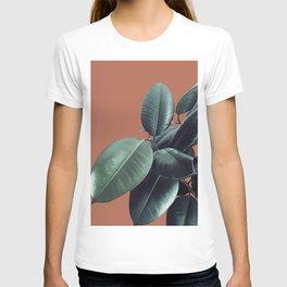 Ficus Elastica #17 #AutumnLeaf #foliage #decor #art #society6 T-shirt