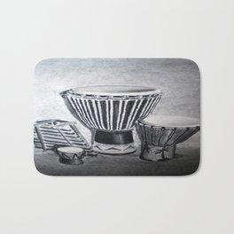 A drum family Bath Mat
