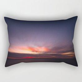 Malibu Sunrise B3 - California Ocean Sunrise Rectangular Pillow