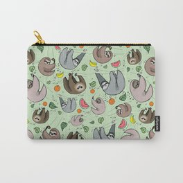 Sloth Party Carry-All Pouch