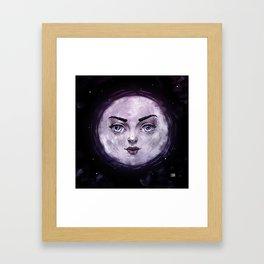 Moon Framed Art Print