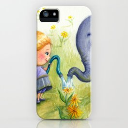"""Elephant Efficiency"" iPhone Case"