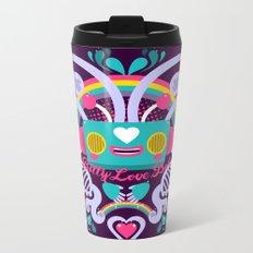 Bitty Love Bot Metal Travel Mug