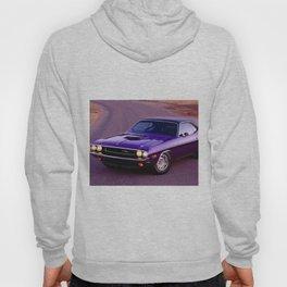 1970 Plum Crazy Purple 426 Hemi Challenger RT Hoody