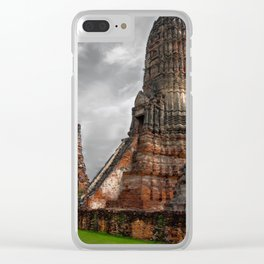 Wat Chaiwatthanaram Clear iPhone Case