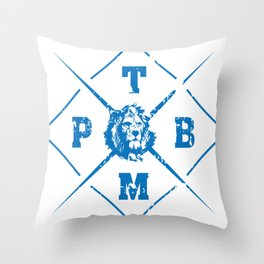 PTBM: Proud To Be Monarch 1 Throw Pillow