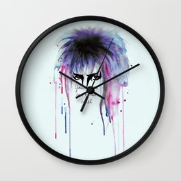 Your Eyes Can Be So Cruel Wall Clock