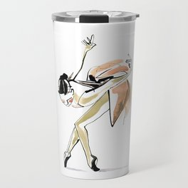 Dance Drawing Ballerina Travel Mug
