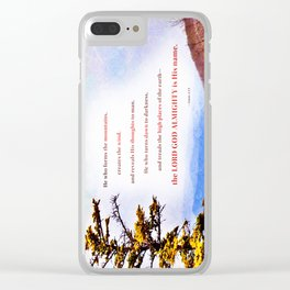 High Places Clear iPhone Case