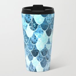 REALLY MERMAID SILVER BLUE Travel Mug